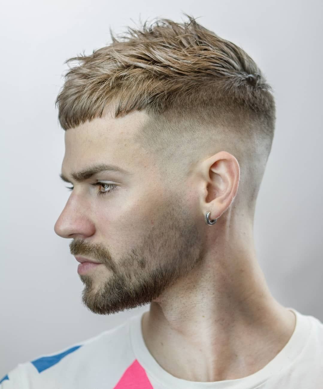 Image Result For French Crop Fade Haircuts For Balding Men Balding Mens Hairstyles Mens Hairstyles Short