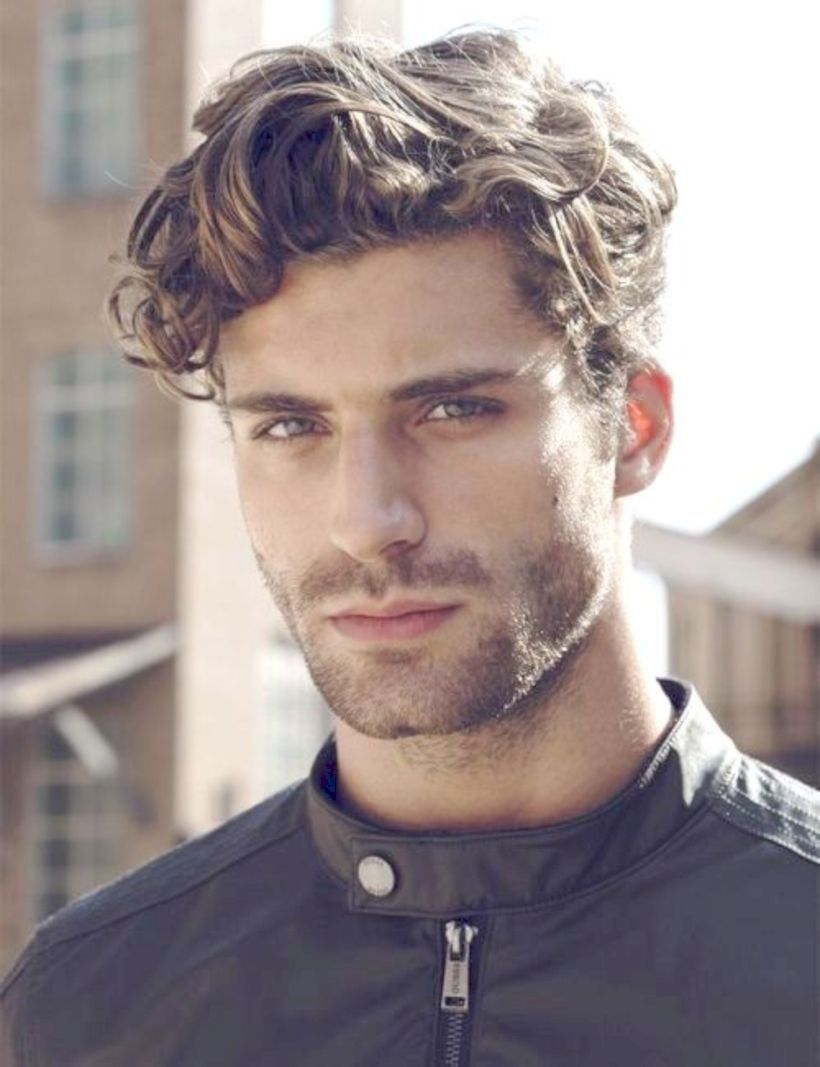 55 New Hairstyles For Men In 2018 Seasonoutfit Wavy Hair Men Latest Men Hairstyles Medium Length Wavy Hair