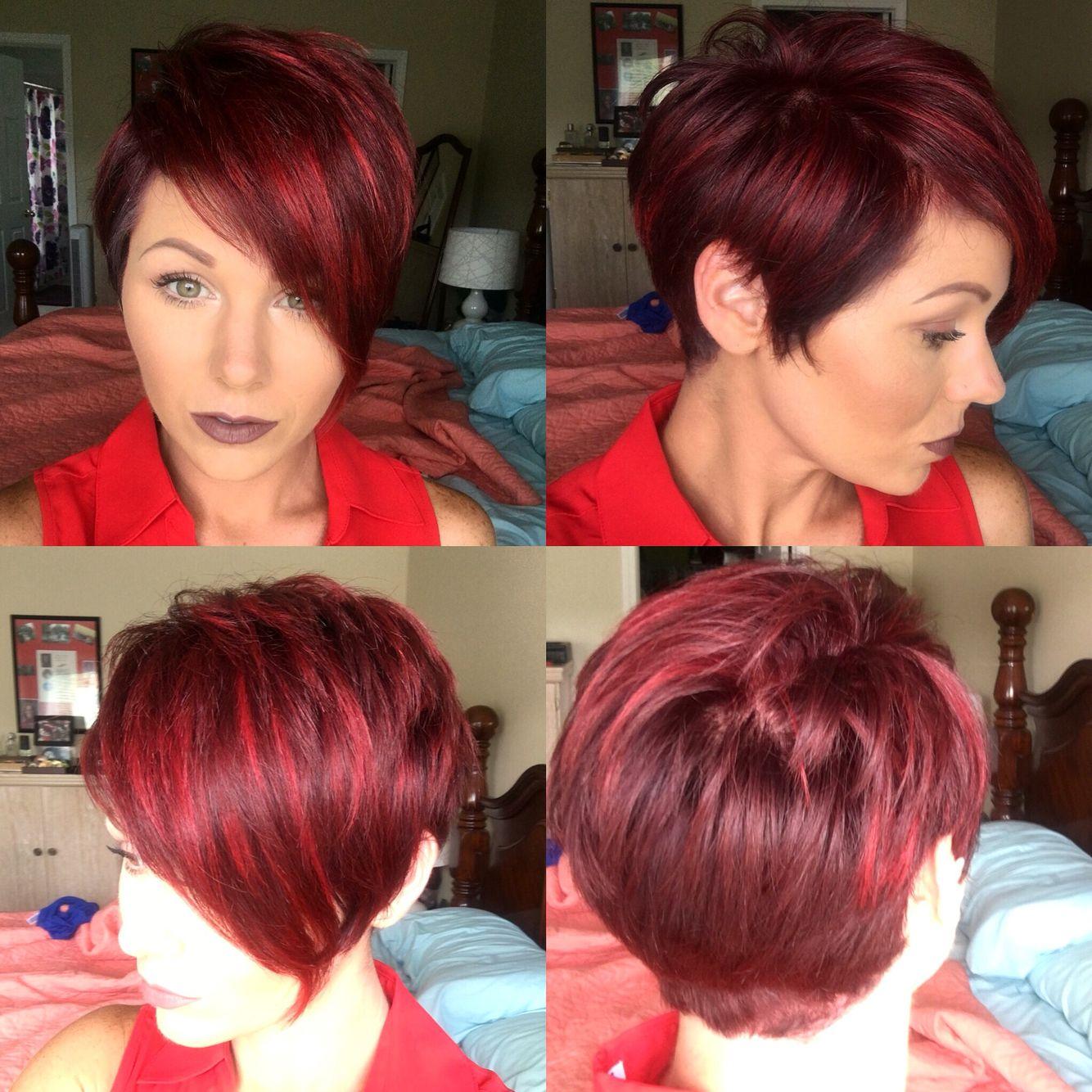Pixie Redhair Kapsels Korte Kapsels Rood Kort Haar