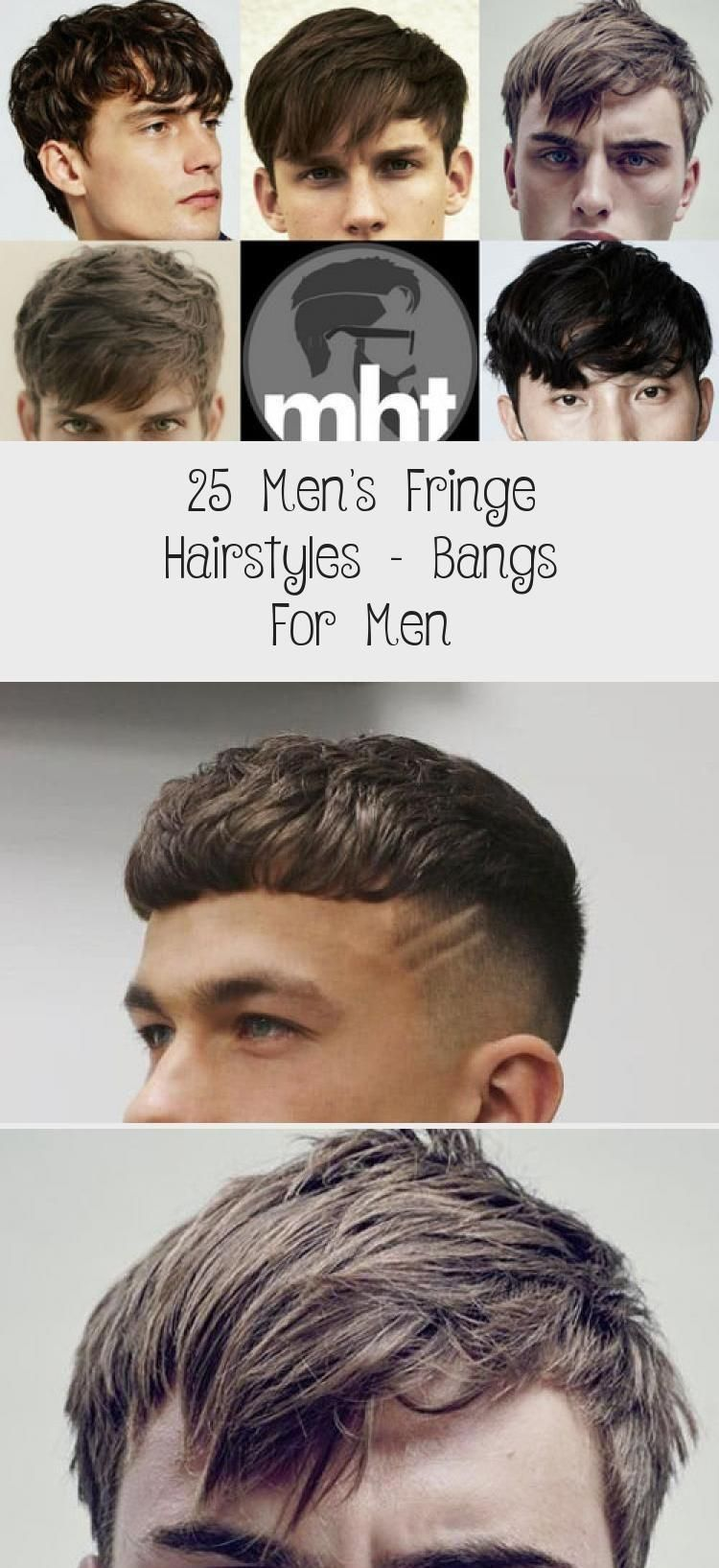 25 Herenkapsels Voor Mannen Pony Voor Mannen Kapsel Acconciature Con Frangia Tagli Di Capelli Acconciature