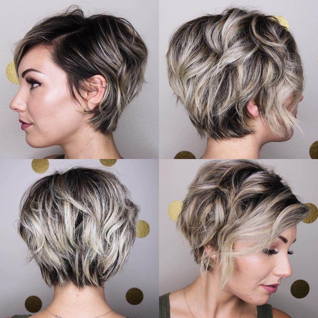 Haarkleur Korte Kapsels 2019