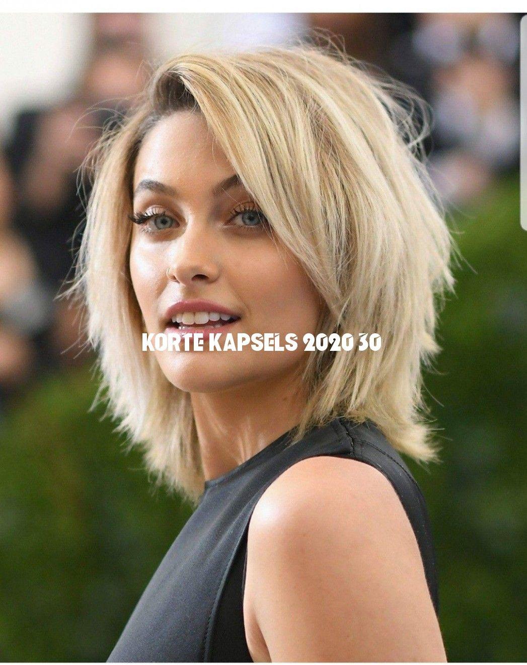 Halflange Kapsels 2020 Dun Haar