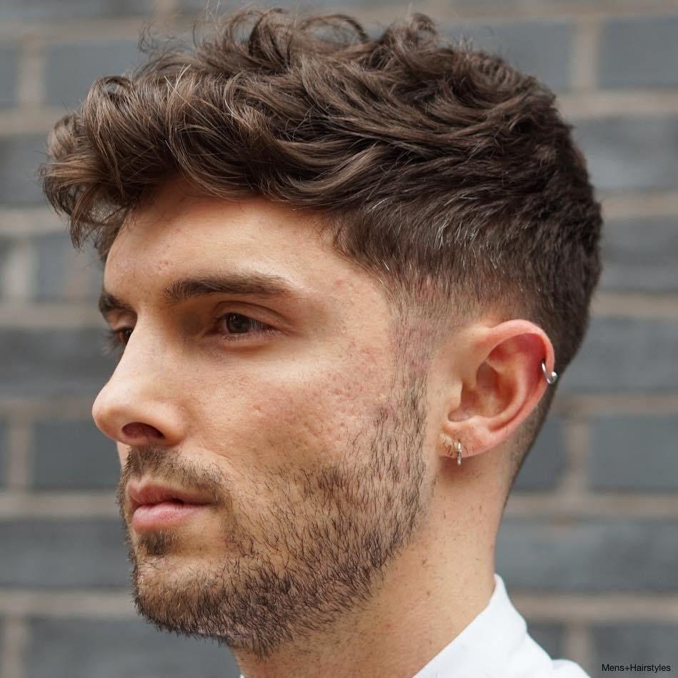 Kapsels Mannen Dik Steil Haar