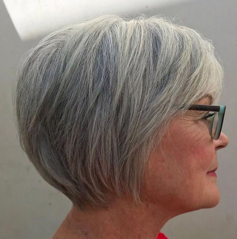 Korte Kapsels Voor Dik Grijs Haar