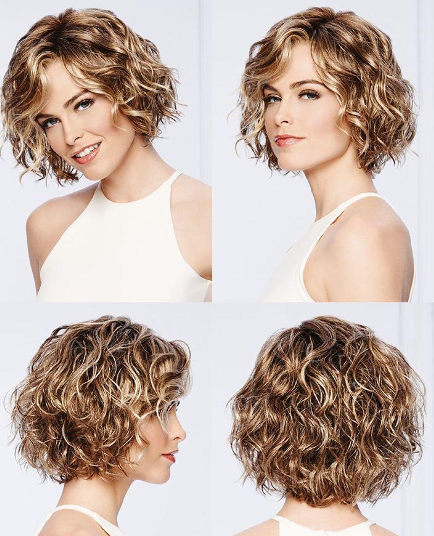 Korte Kapsels Voor Dun Krullend Haar