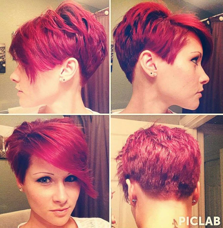 Korte Kapsels Vrouwen Rood Haar