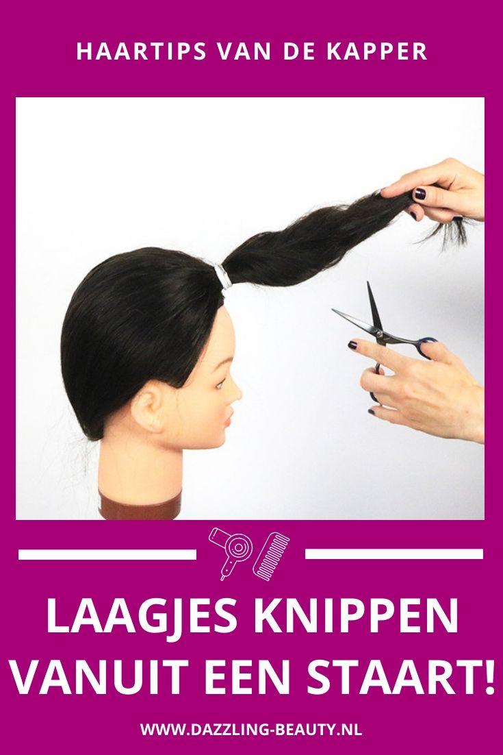 Korte Kapsels Zelf Kort Haar In Laagjes Knippen