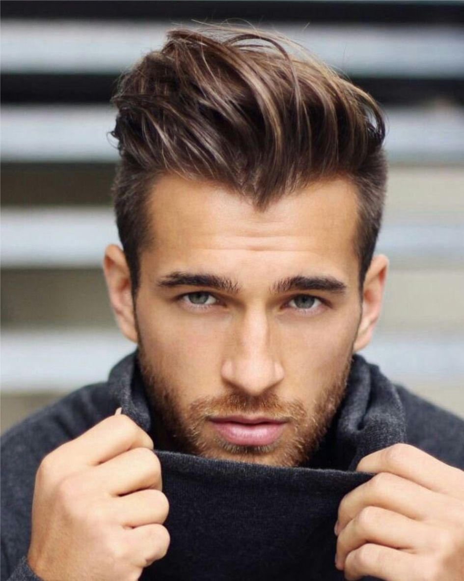 Herenkapsels Thin Hair Men Mens Hairstyles Thin Hair Gents Hair Style