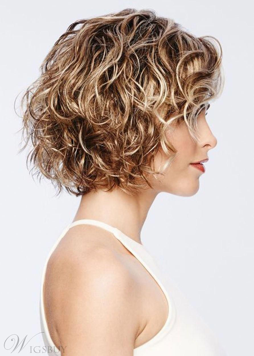 Curlybobhairstyles Curly Hair Trends 100 Human Hair Wigs Wig Hairstyles