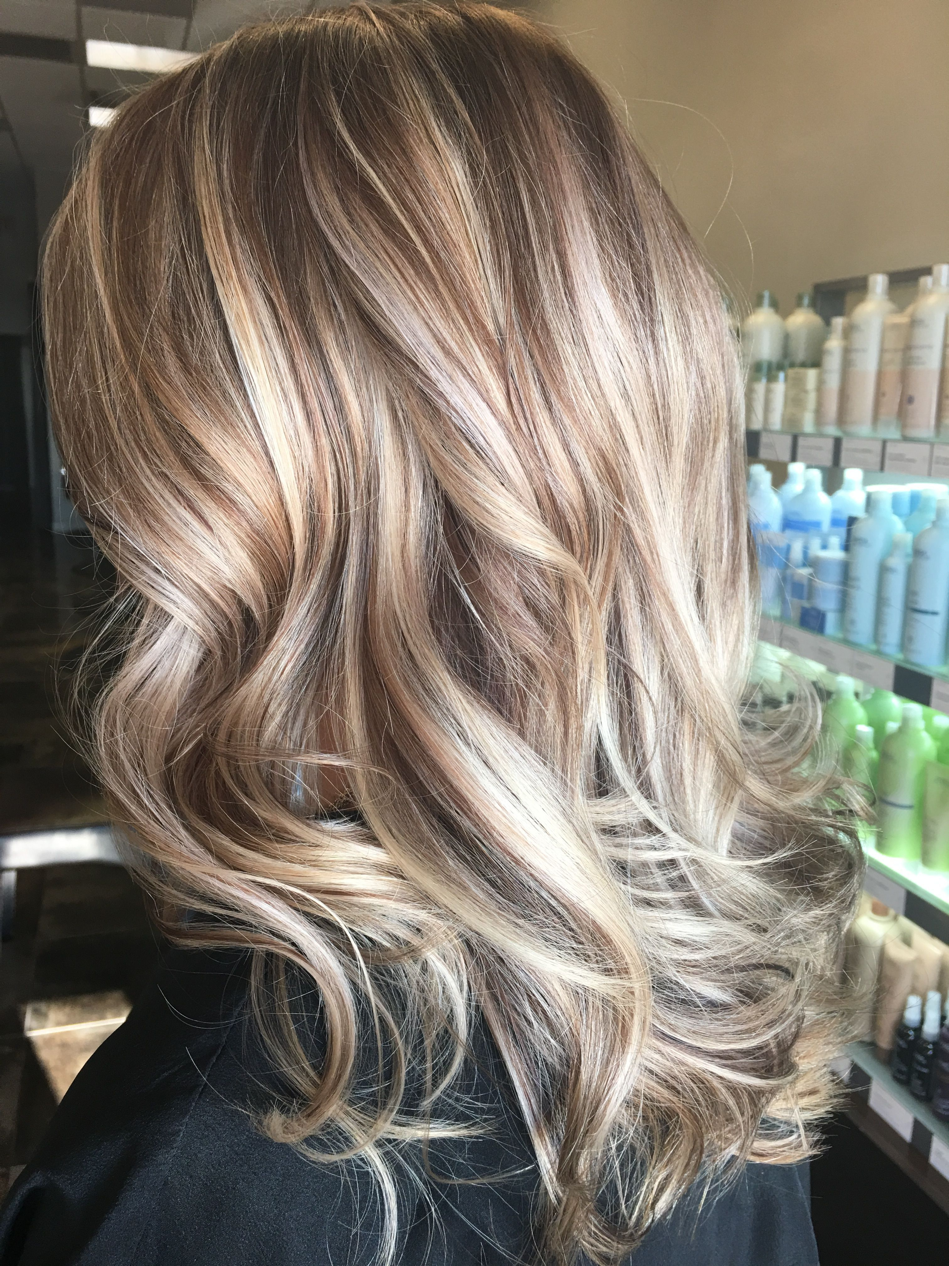 Beautiful Fall Winter High And Low Lights Makeupideaswinter Light Hair Low Lights Hair Hair Styles