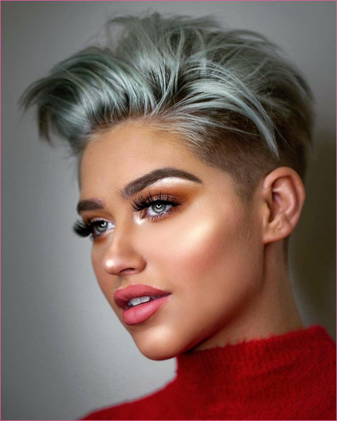 Sidecut Kurze Haare In 2020 Kapsels Kapsels Voor Kort Haar Kort Haar Kapsels