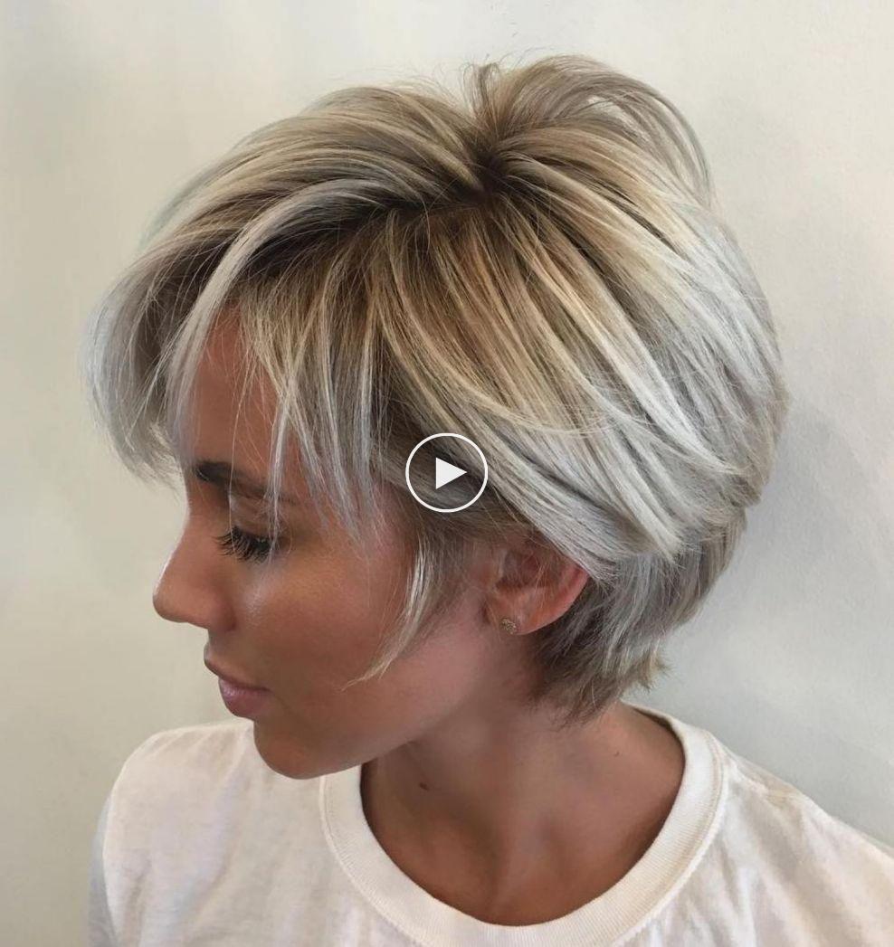 70 Leuke En Gemakkelijk Te Stylen Korte Gelaagde Kapsels In 2020 Short Hair With Layers Hair Styles Layered Hair