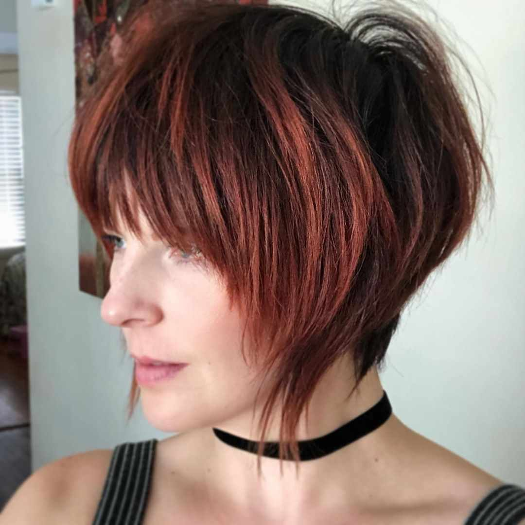 30 Best Fall Hair Colors For Short Hair 2019 2020 Hairstyle Samples Short Hair Styles Fall Hair Colors Short Hair Color