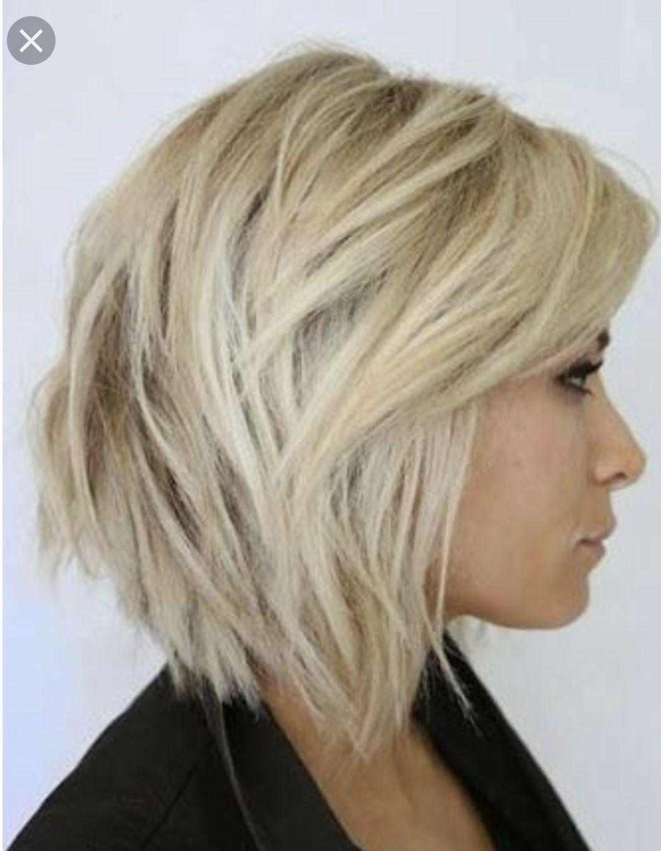 Pin Van Mireille Bosman Op Hair Kapsel Rond Gezicht Kapsels Kapsel Halflang Fijn Haar