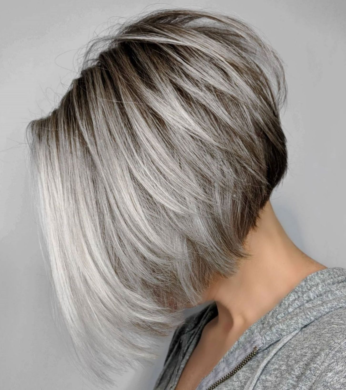 60 Best Short Bob Haircuts And Hairstyles For Women Grey Bob Hairstyles Latest Bob Hairstyles Gray Balayage