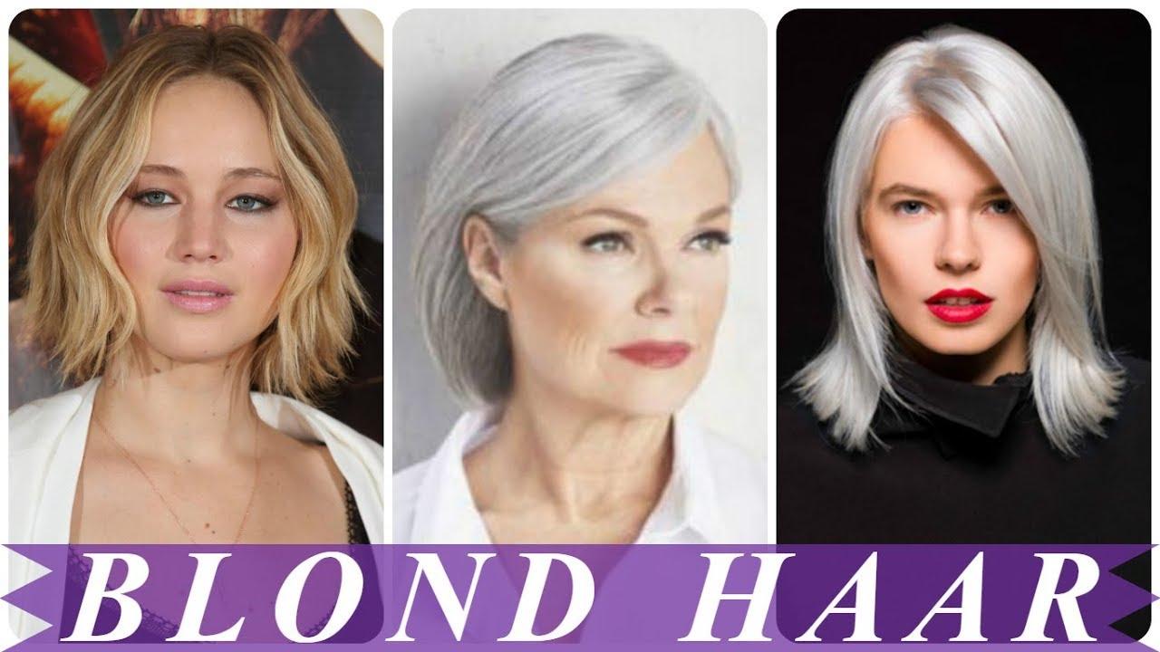 Nieuwe Korte Kapsels Dames Blond 2018 Youtube