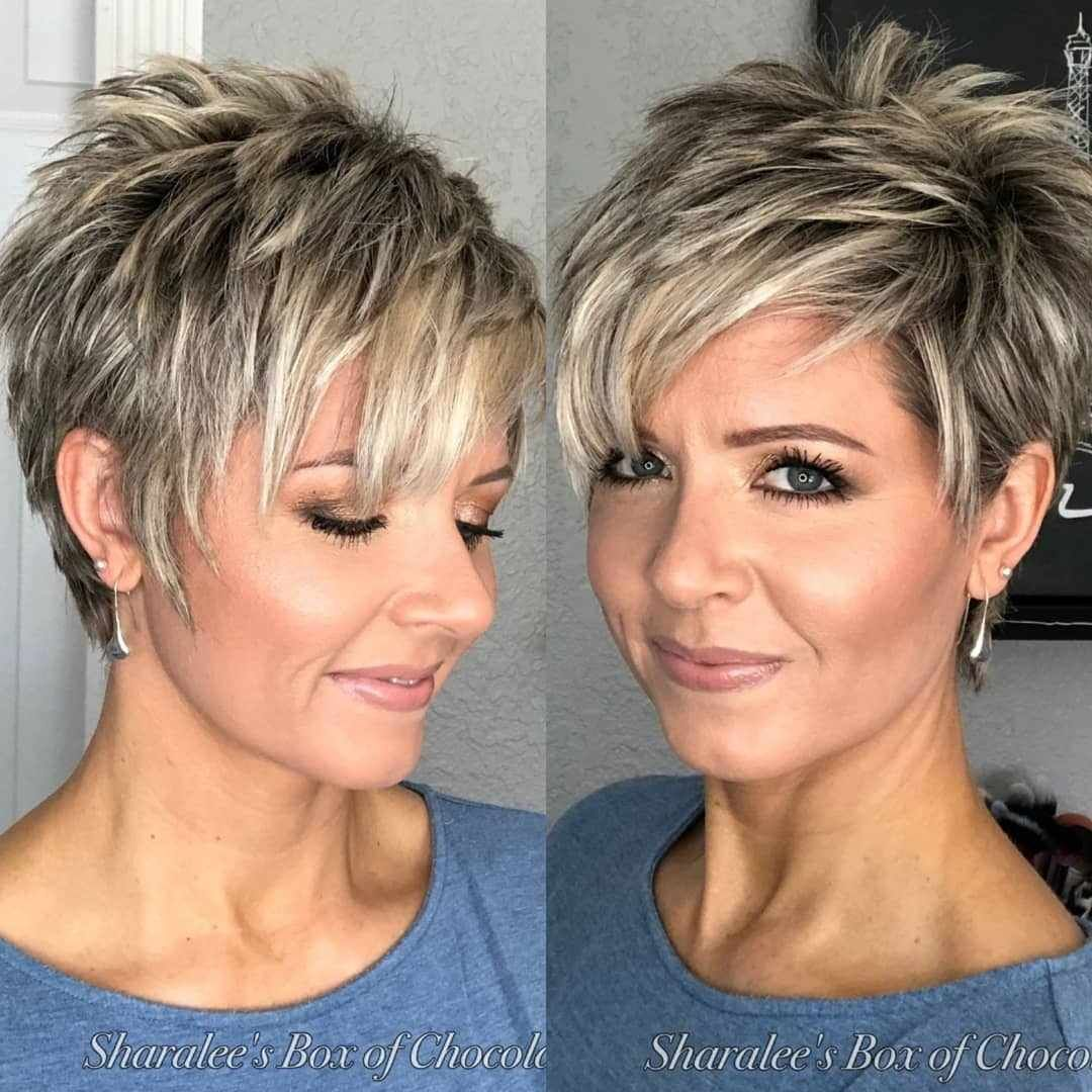 40 Best New Pixie Haircuts For Women 2018 2019 Spiked Hair Hair Styles Thick Hair Styles