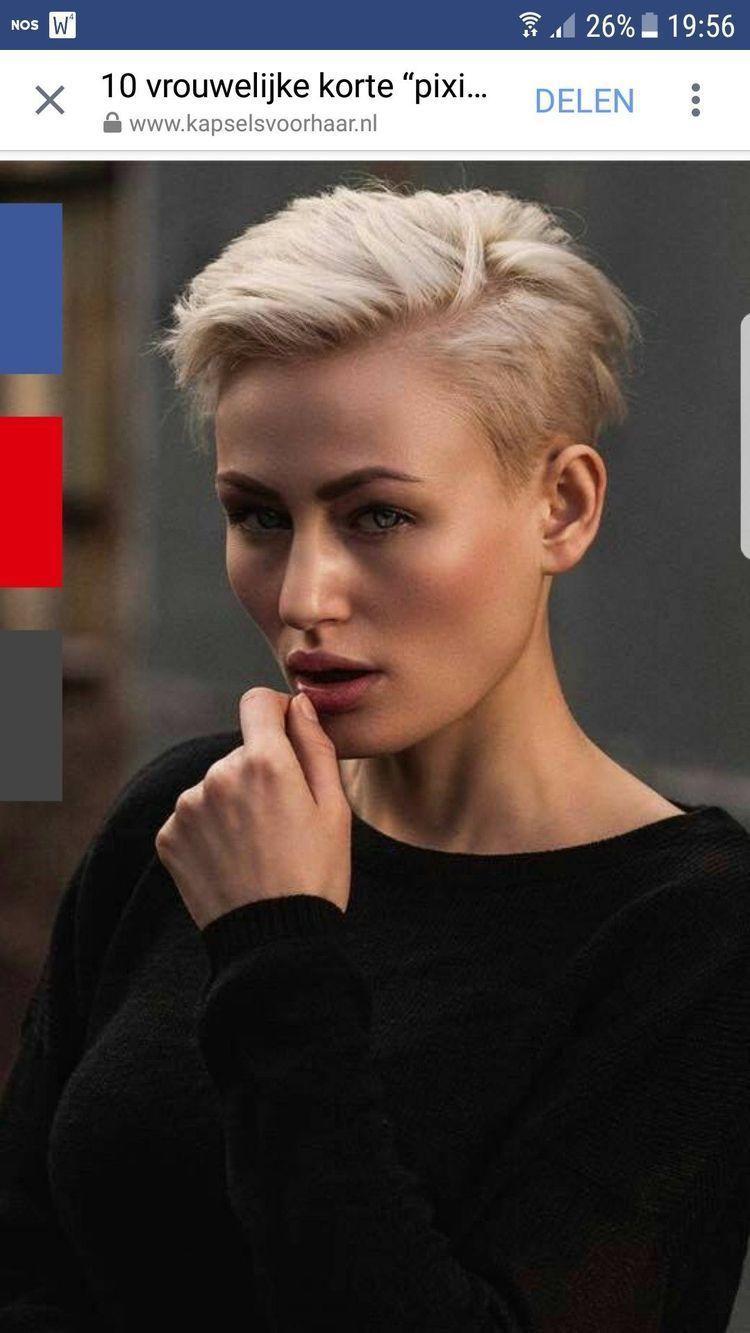 Leukekortekapsels Kurzhaarschnittefurmadchen Short Hair Styles Short Hair Styles Pixie Hair Styles