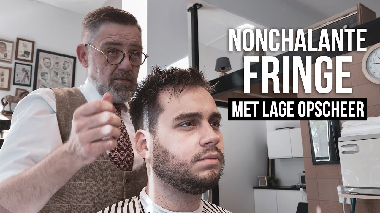 Nonchalante Fringe Met Lage Opscheer Kort Mannen Kapsel Out Of Bed Look Tino Youtube