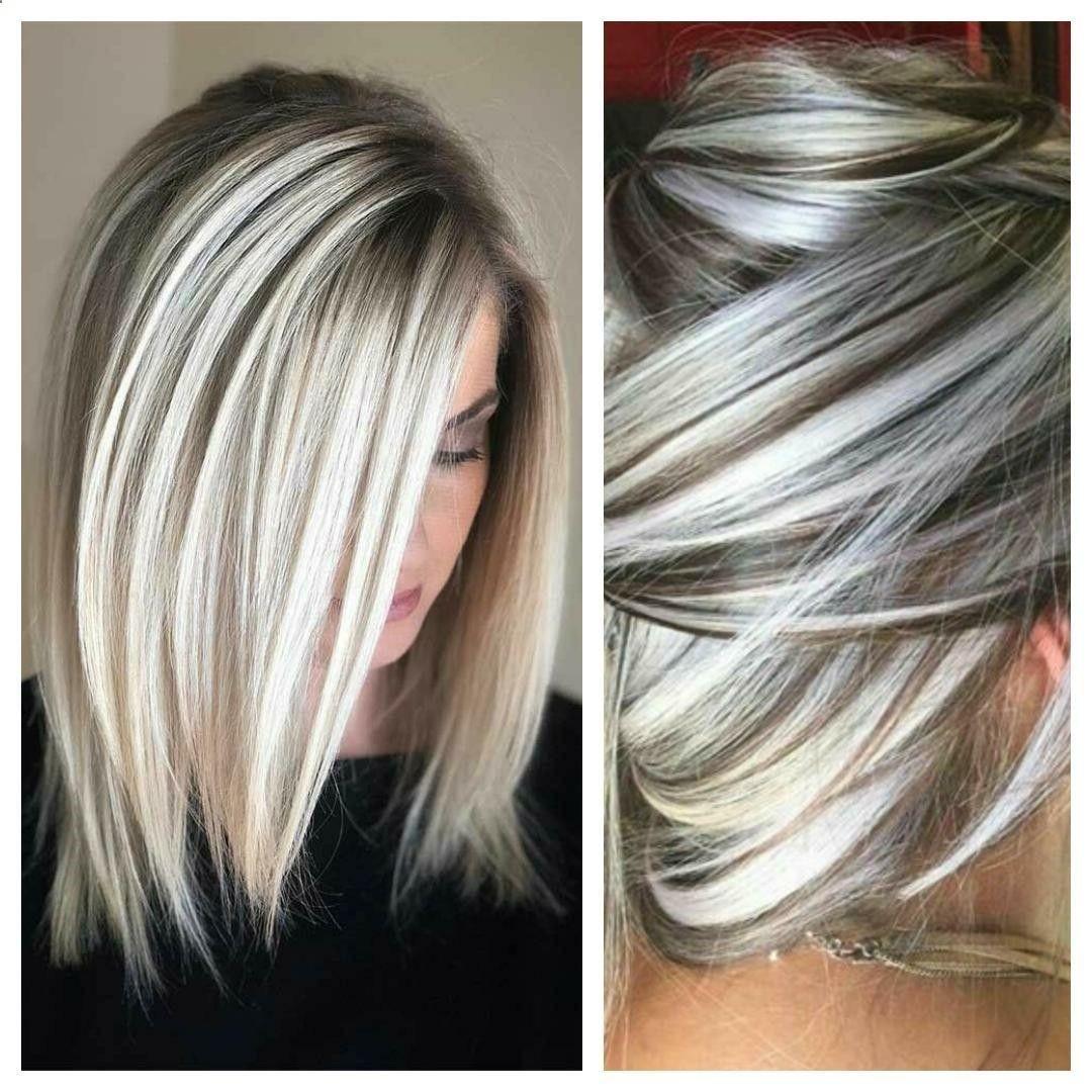 33 Gorgeous Gray Hair Styles You Will Love Grijs Haar Kapsels Kapsels Kleur Haar
