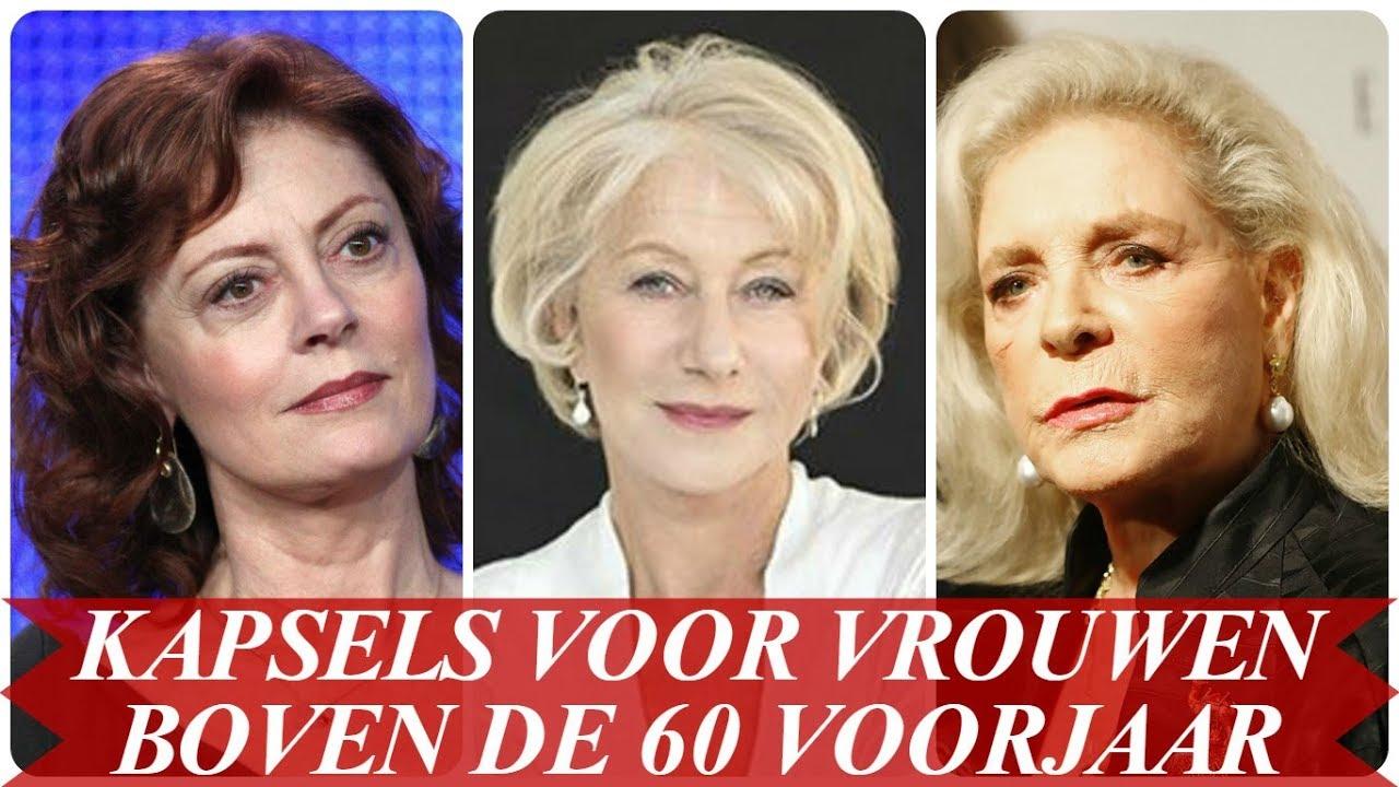 Leuke Kapsels Voor Vrouwen Boven De 60 Voorjaar 2018 Youtube