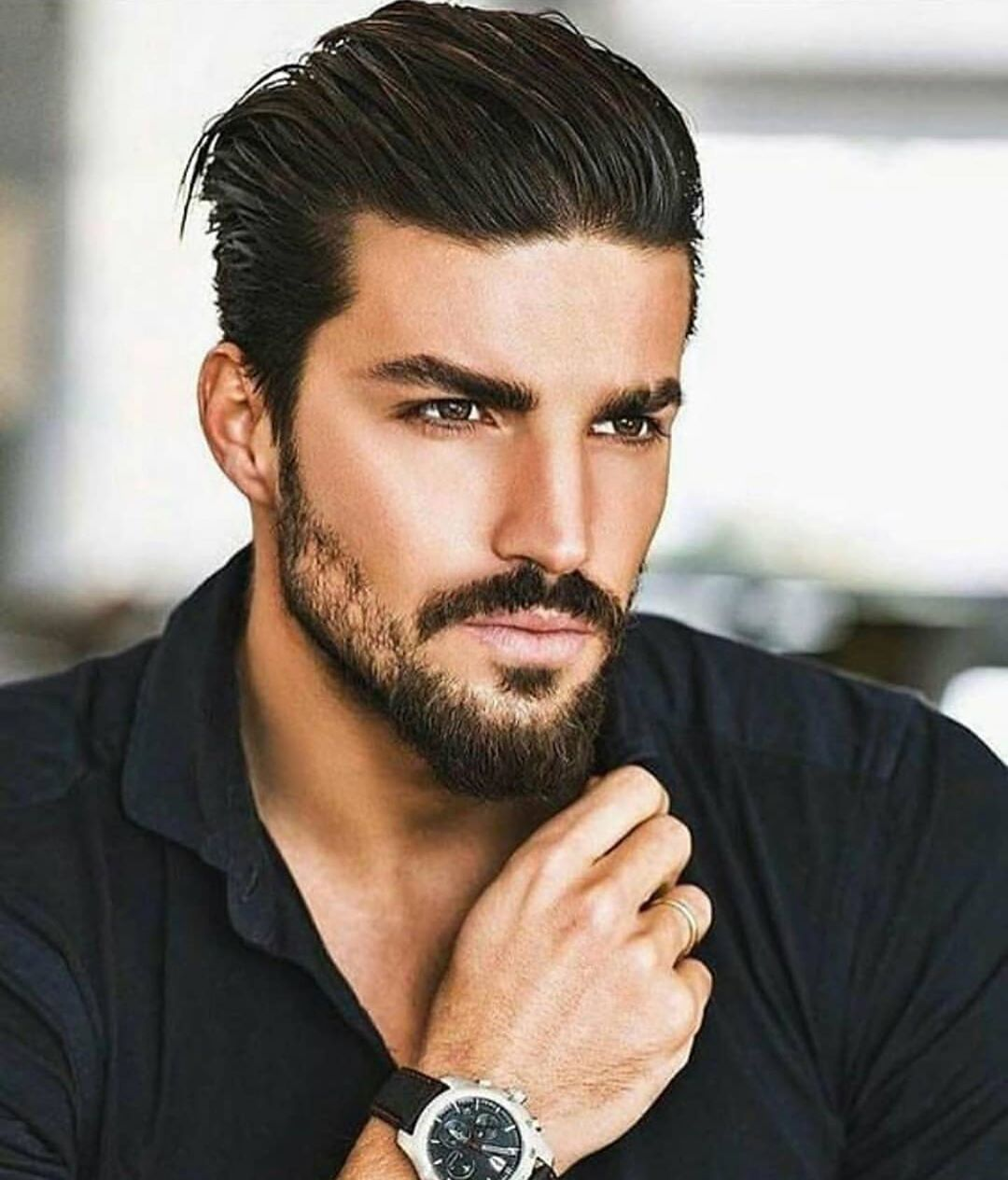 Or This Hairstyle Menslifehairstyles Menslifefashion Mensfashion Mensstyle Menwithstyle Menwithclass Fashion In 2020 Heren Kapsel Mooie Mannen Kapsels