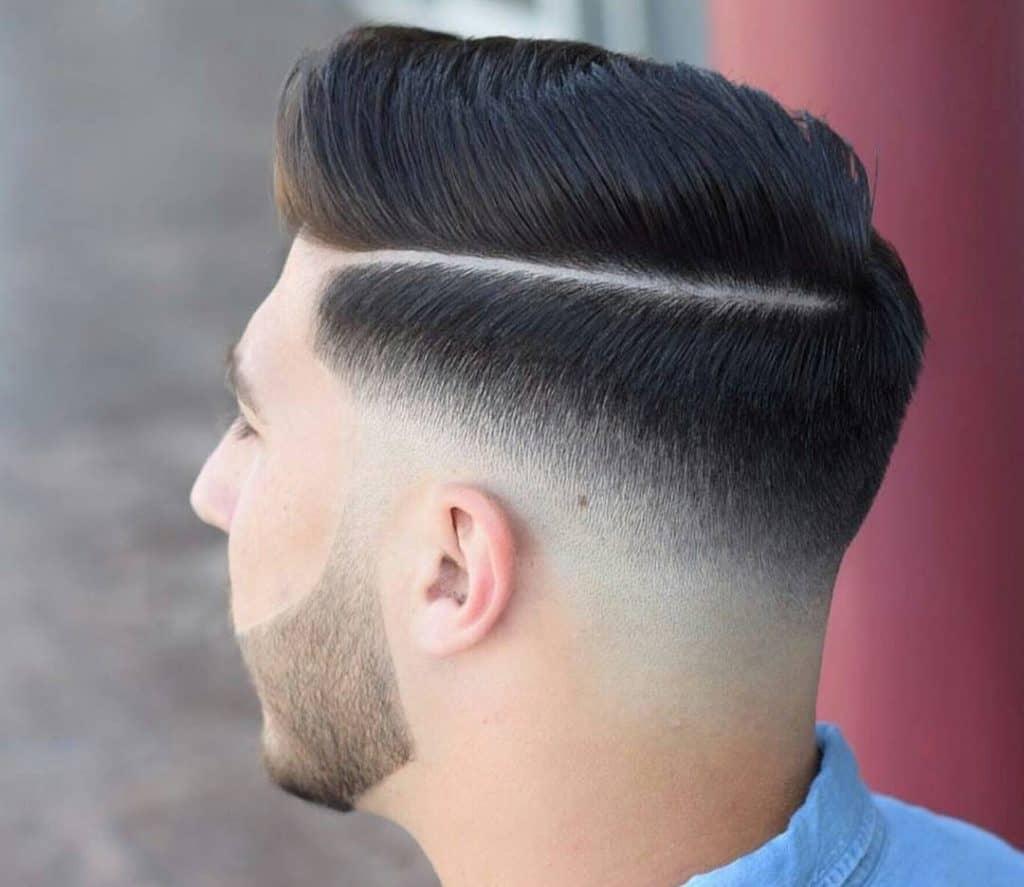 Side Trend Haircut Men Novocom Top