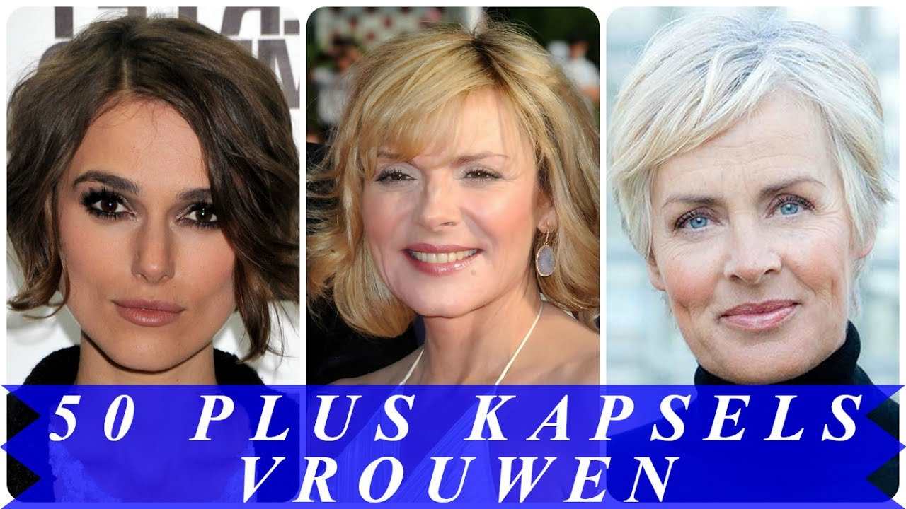 Korte Kapsels Vrouwen 50 Plus Youtube