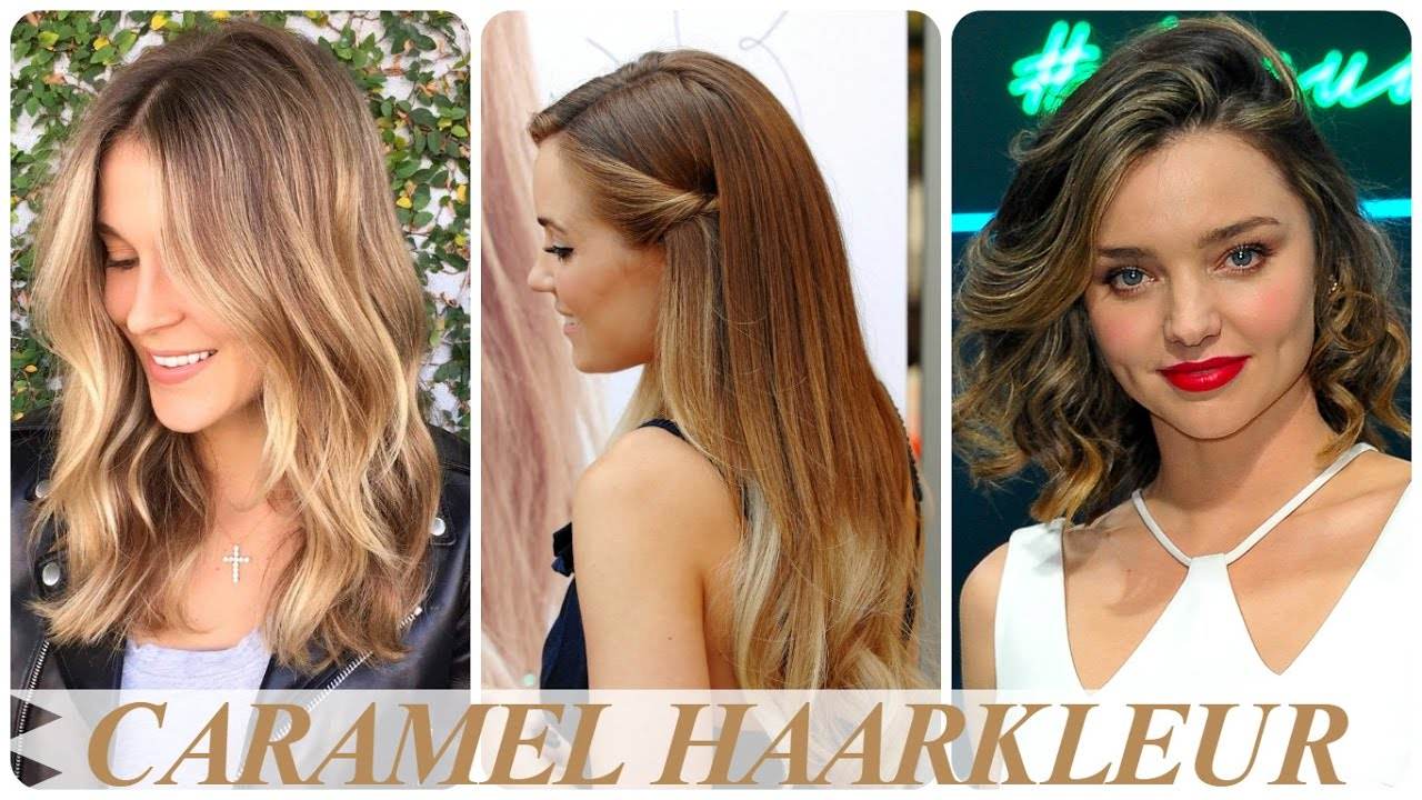 Caramel Haarkleur Youtube