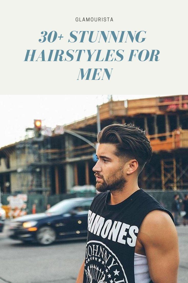 The Hair Trends For Men In 2019 Discover These 30 Amazing Hairstyles For Men Longer Hair To Shorter Hair We Ve Got Mannenkapsels Lang Haar Man Herenkapsels