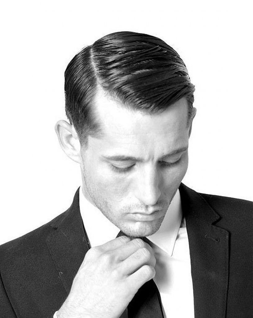 Combed Side Part Hairstyle For Men Short Hair Herenkapsels Kapsels Voor Mannen Kapsels