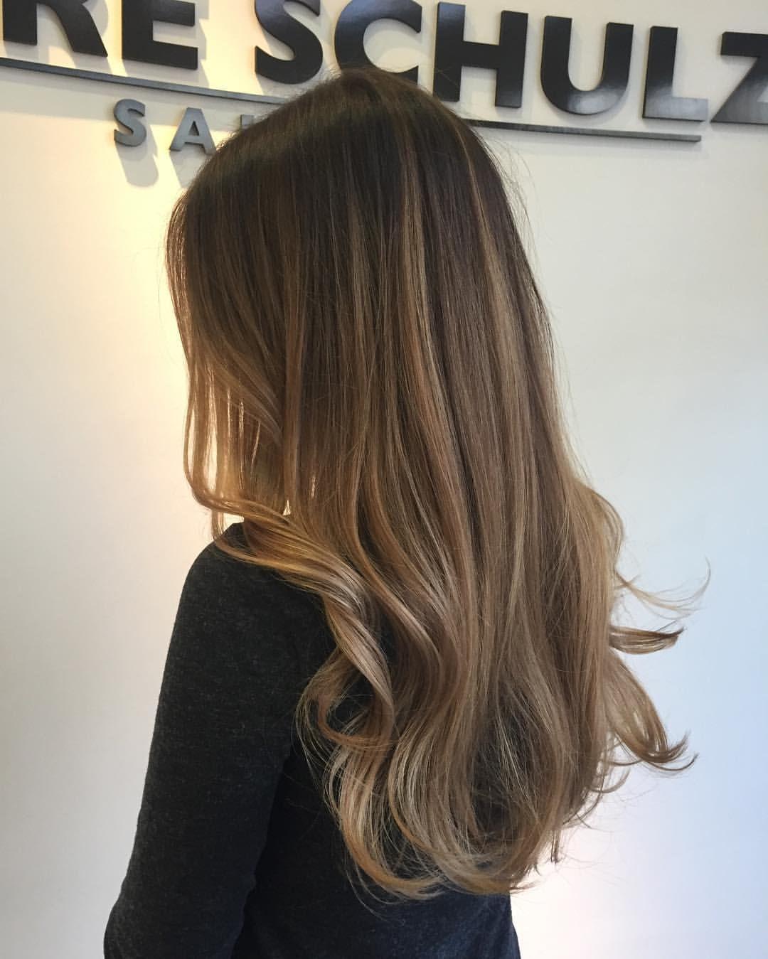 Pin Van Samantha Cunningham Op Balayage Hair Bruin Haar Met Highlights Bruin Haar Highlights Lichtbruin Haar