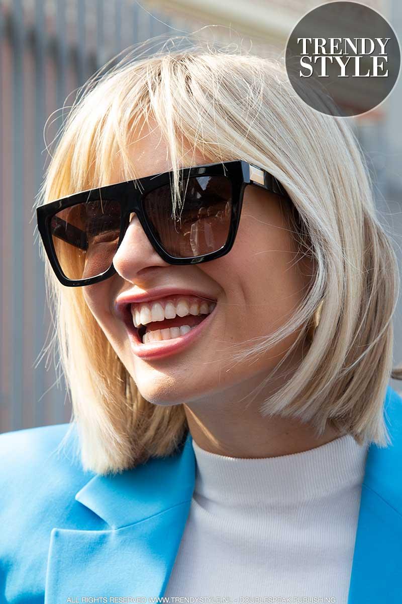 Haartrends Lente Zomer 2020 Dit Korte Bobkapsel Is Super Populair En Ontzettend Slim Trendystyle