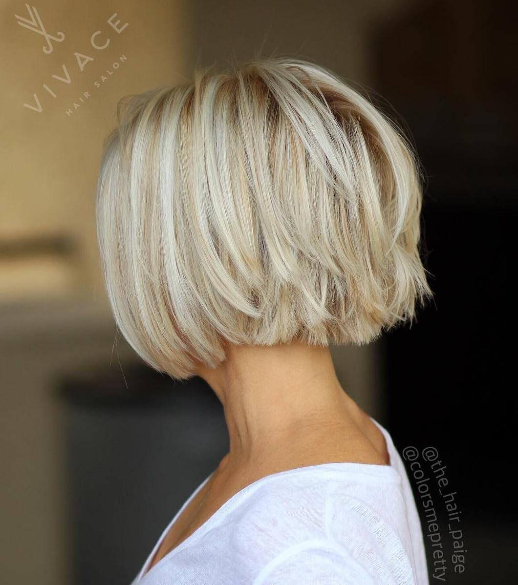 100 Mind Blowing Short Hairstyles For Fine Hair Korte Kapsels Voor Fijn Haar Kapsels Kort Trendy Kapsel