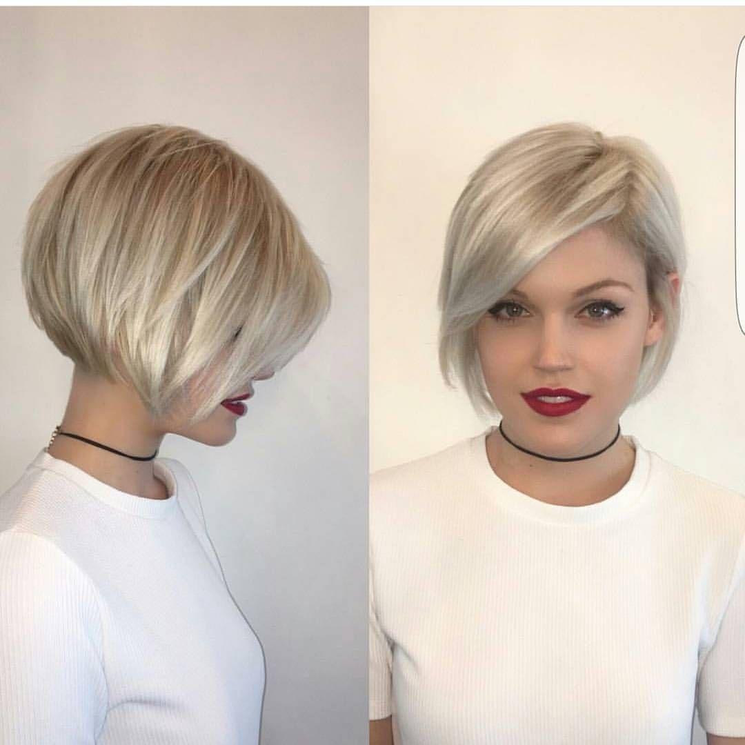 Trendy 2019 Short Bob Hairstyles Trendy Celebrities Look Short Hair With Layers Short Hair Styles Hair Styles