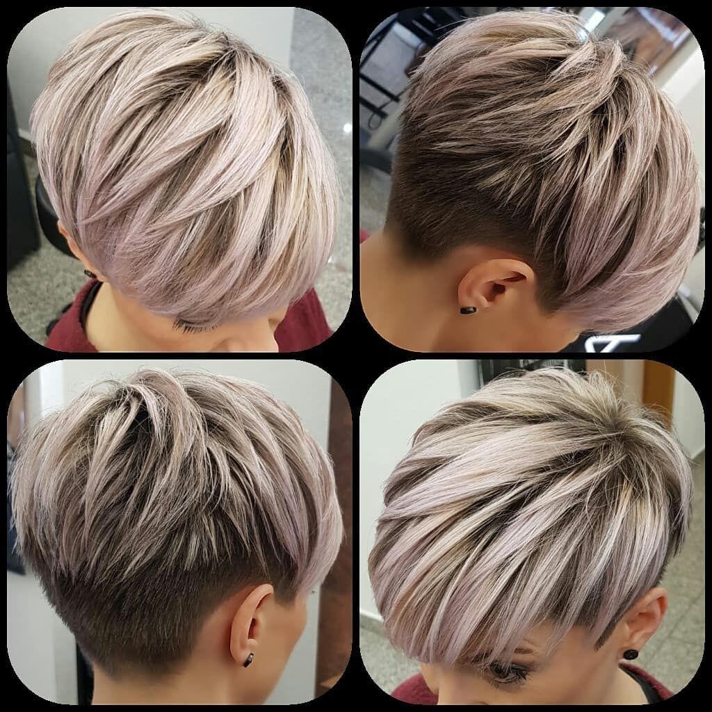 Pin By Melanie Wijkhuisen Vijzelaar On Vernasilvia Latest Short Hairstyles Thick Hair Styles Short Hair Styles