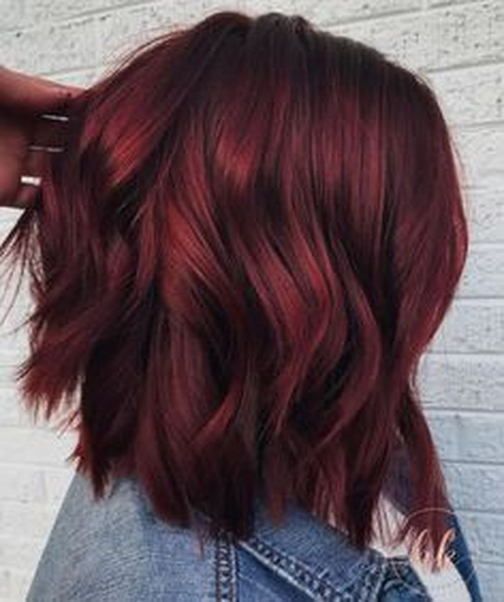 49 Classy Hair Color Ideas To Try In 2019 Short Red Hair Wine Hair Red Balayage Hair