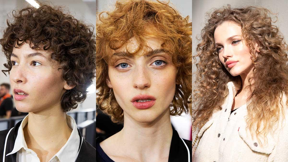 Haartrends Herfst Winter 2020 Haarsnitten Voor Krullend Haar Trendystyle
