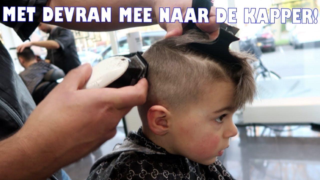 How To Kapsel Van Devran Stoer Jongenskapsel Fade Haircut 24 Youtube