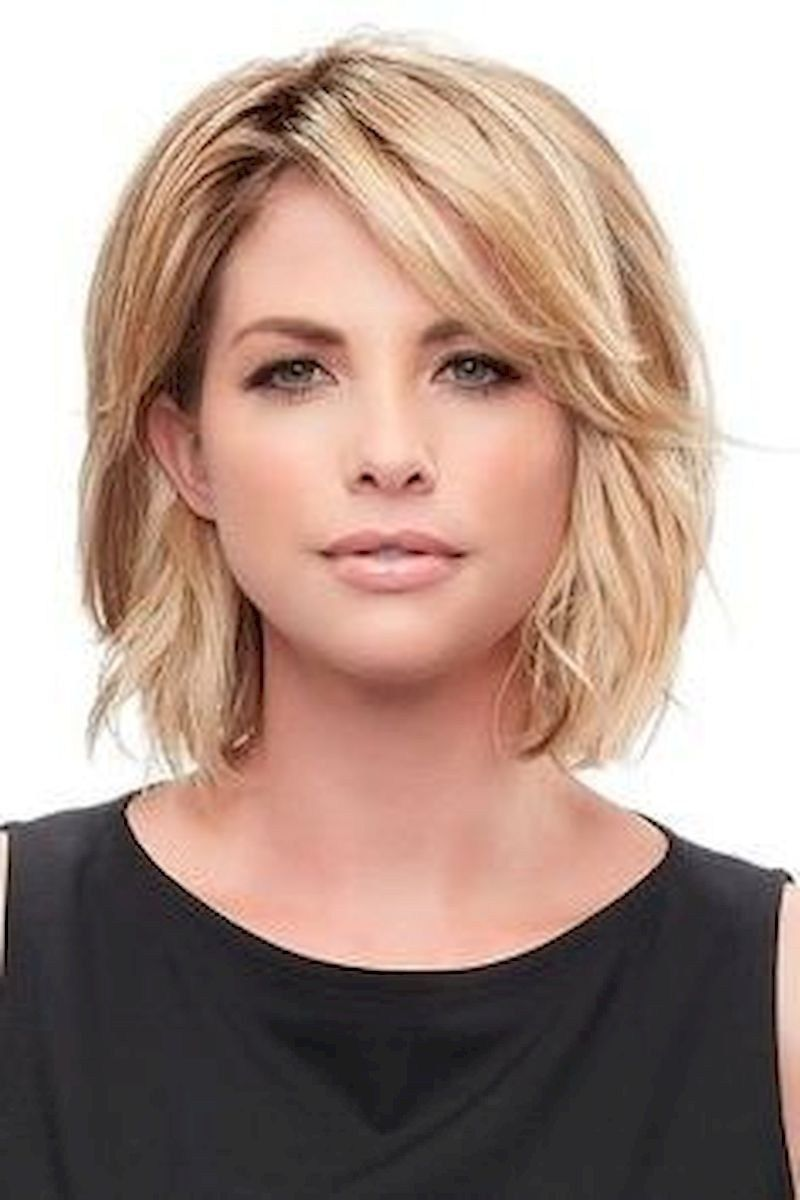 Super Chic Hairstyles For Women Over 40 23 Medium Bob Hairstyles Thick Hair Styles Medium Hair Styles