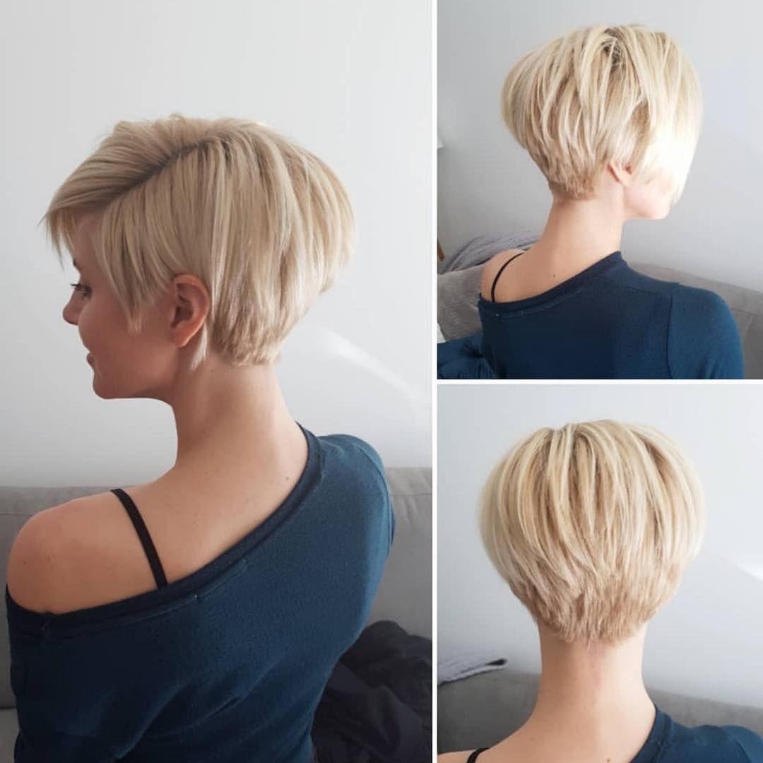 470 Vind Ik Leuks 3 Opmerkingen Pixie Inspirations Op Instagram Kapsels Kapsels Voor Kort Haar Kort Haar Kapsels