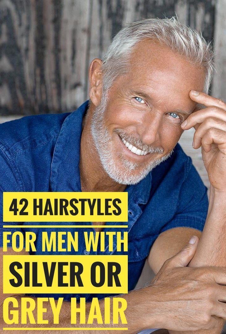 Pin By Maria Soto On Haarschnitt Silver Hair Men Thin Hair Men Older Mens Hairstyles