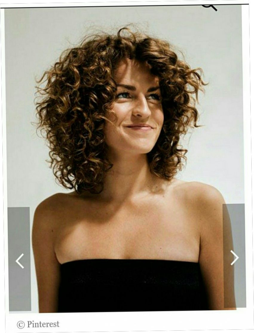 Epic Halflang Haar Krullen Krullend Haar Halflang Kapsel Krullen Halflang Krullend Haar