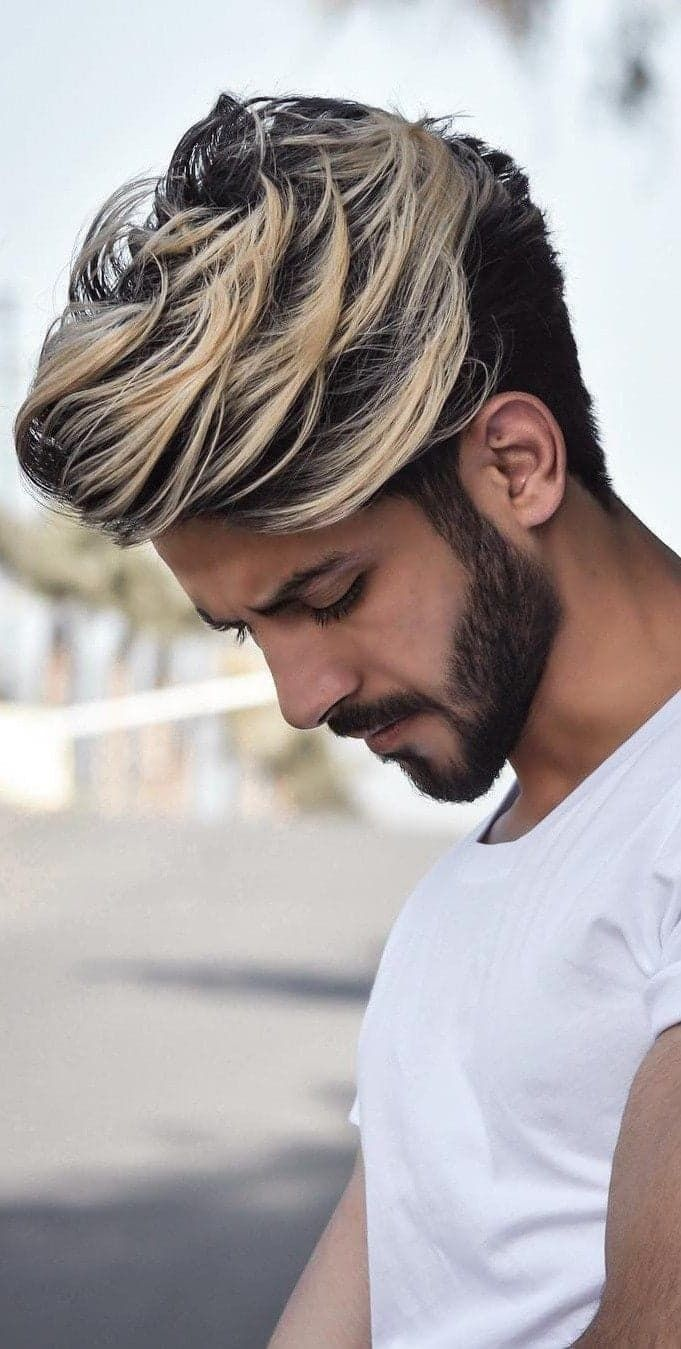 Pin By Jesse De Bruin On Men Hairstyle Long Hair Styles Men Mens Hair Colour Cool Hairstyles