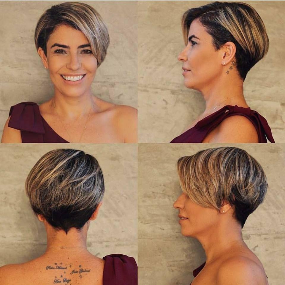 Heb Jij Bruin Haar Dan Ga Jij Deze Korte Modellen In Bruine Haarkleuren Vast Geweldig Vinden Kapsels Kort Haar Kapsels Kort Kapsel Lok