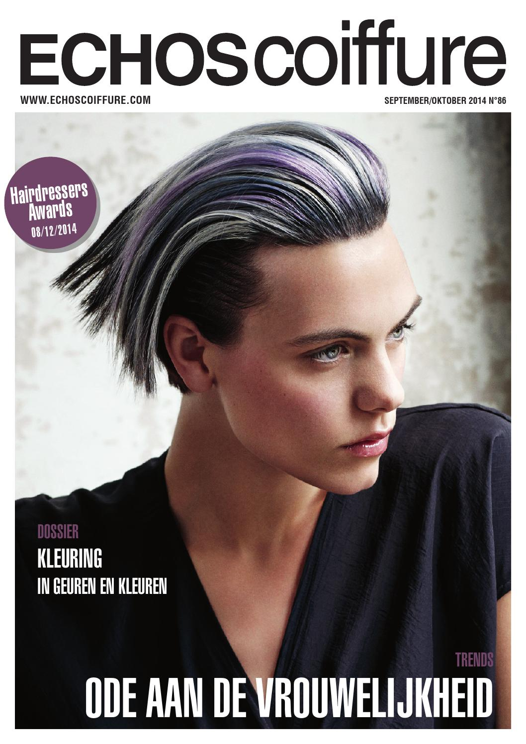 Echos Coiffure Be Nl N 86 By Eurobest Products Issuu