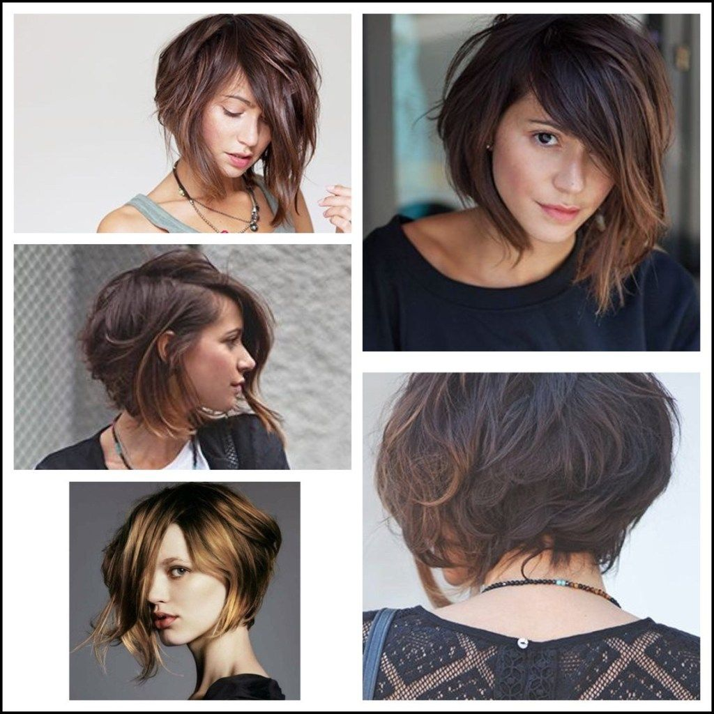 Choppy Asymmetric Bob Hair Ideas Pinterest Asymmetric Bob Beauty Mode Kurzhaarschnitte Haarschnitt Frisuren