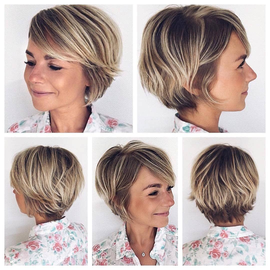 Natuurlijk Mooi 10 Korte Modellen In De Meest Natuurlijke Kleuren Kapsels Voor Haar Kapsels Kort Haar Kapsels Korte Kapsels Voor Fijn Haar
