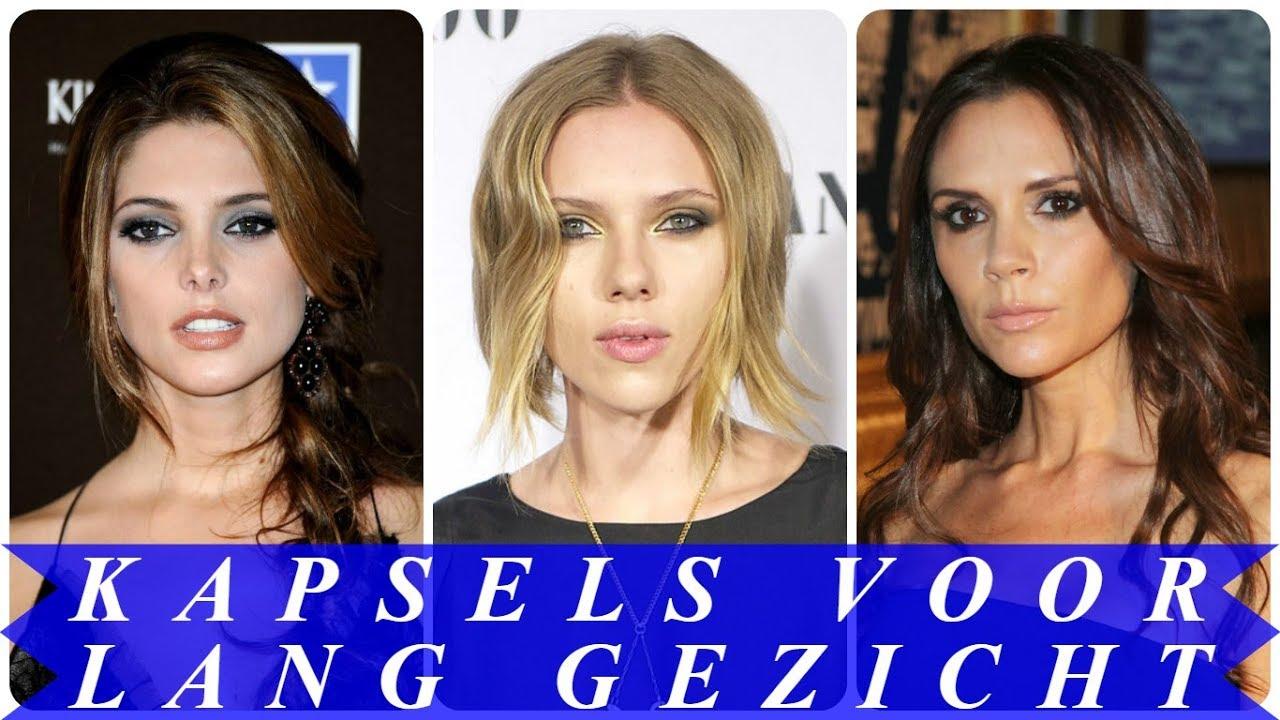 Mooie Kapsels Voor Lang Gezicht 2018 Dames Youtube