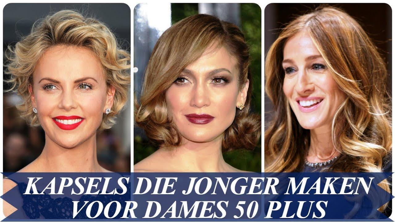 Kapsels Die Jonger Maken Voor Dames 50 Plus Youtube